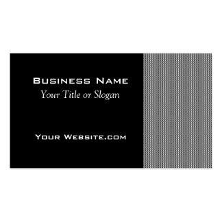 Modern Grey and Black Design Business Card