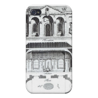 Modern Grotto, from 'Grotesque Architecture or Rur iPhone 4 Case