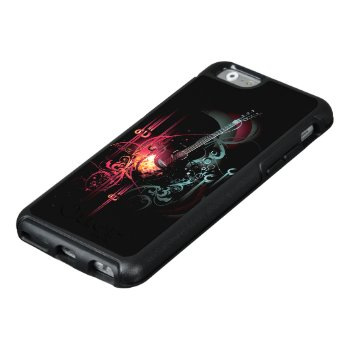 Modern Guitar Art Otterbox Iphone 6 Case by FantasyCases at Zazzle