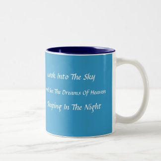 Modern Haiku Mug (Blue)