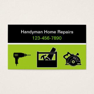 Modern Handyman Business Cards