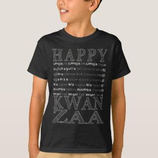 Modern Happy Kwanzaa T-Shirt