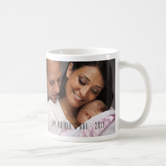 Modern Happy Mother's Day Photo Mug