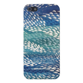 Modern Healing Sea Abstract Painting Art iPhone 5 Case
