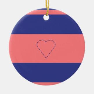 modern heart christmas decoration