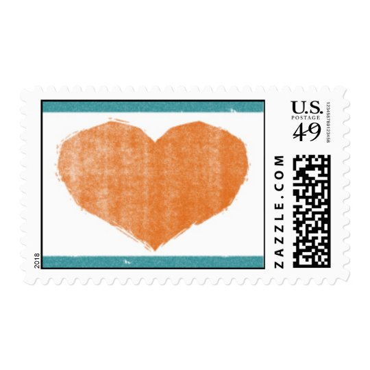 Modern Heart Stamp