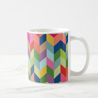 Modern Herringbone Pattern Coffee Mug