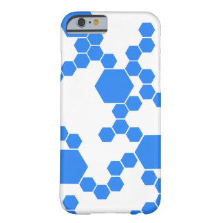 Modern Hexagon Barely There iPhone 6 Case