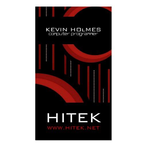 Modern Hi-Tech Business Card