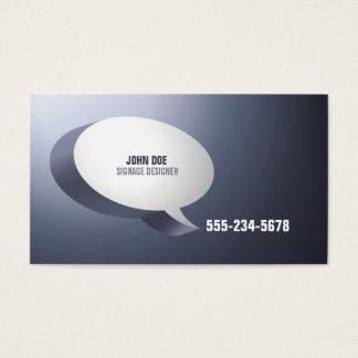 Modern High Impact Design Business Card