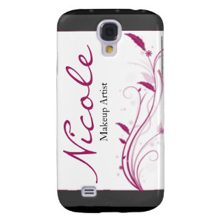 Modern High Style Black Grey Pink Samsung Galaxy S4 Cover