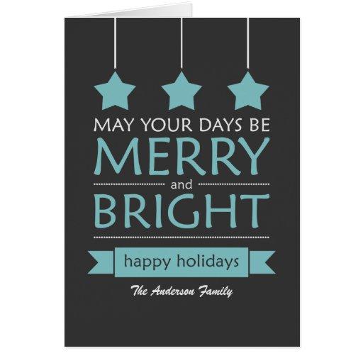 Modern Holiday Greeting Card