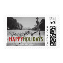 Modern Holiday | Holiday Photo Stamps