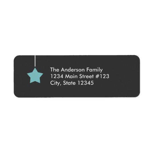 Modern Holiday Label