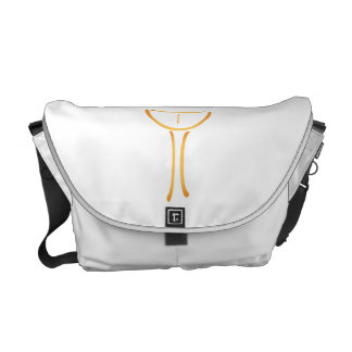 Modern Holy Chalice Christian symbol Courier Bags