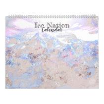 Modern Home Office Calendar - Ice Nation