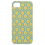 Modern honeycomb geometric tribal pattern print iPhone SE/5/5s case