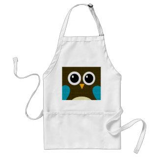 Modern Hoot Owl Apron