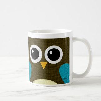 Modern Hoot Owl Mug