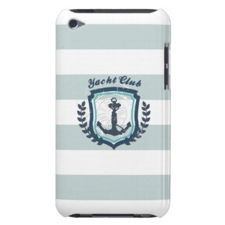 Modern Horizontal Stripe Glittler Look Bling Mod Barely There iPod Case