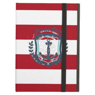 Modern Horizontal Stripe Glittler Look Bling Mod iPad Air Cover