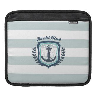 Modern Horizontal Stripe Glittler Look Bling Mod iPad Sleeve