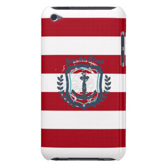 Modern Horizontal Stripe Glittler Look Bling Mod iPod Touch Cover