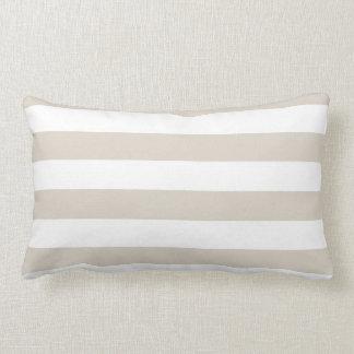 Modern Horizontal Stripe Lumbar Pillow
