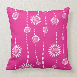 Pink Floral Decorative Pillows : Pink Floral Pillows Pretty Throw Pillows Pretty Throw Pillows
