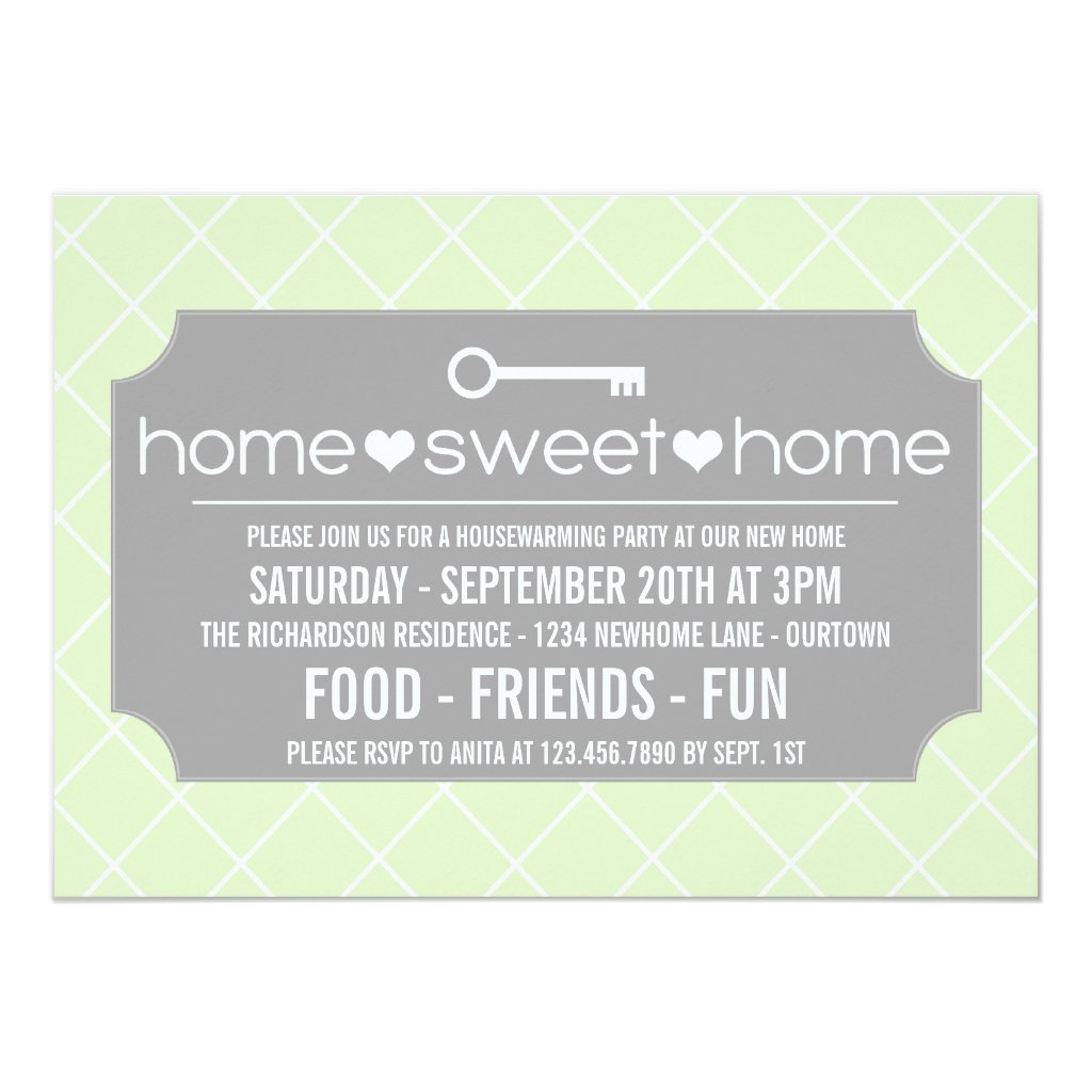Modern Housewarming Party Invitations