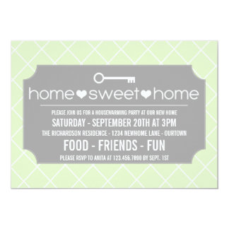 Modern Housewarming Party Invitations
