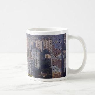 Modern housing near La Defense, Paris, France Classic White Coffee Mug