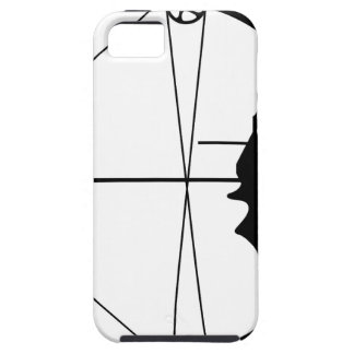 Modern Hunting Bow and Arrow iPhone SE/5/5s Case