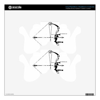 Modern Hunting Bow and Arrow Skins For PS3 Controllers