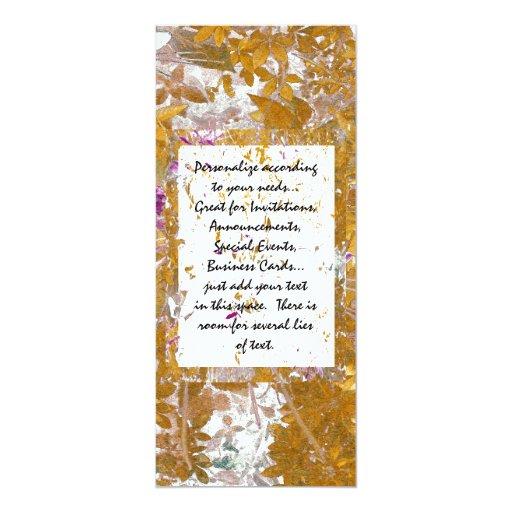 Modern Impression 4x9.25 Paper Invitation Card