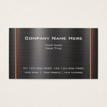 Modern Industrial Design Business Card