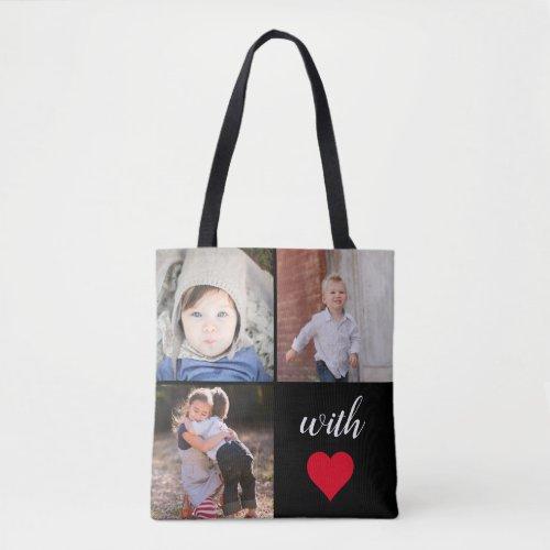 Modern Instagram Photo Collage Tote Bag