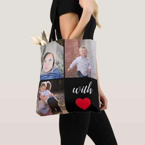 Modern Instagram Photo Collage Tote Bag
