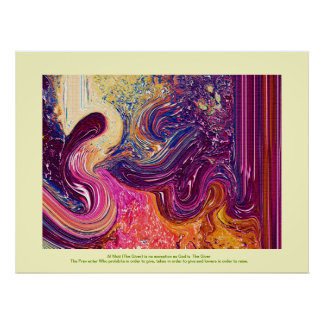 Modern Interior Paintings Poster