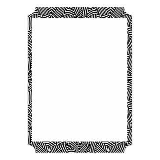 Modern Intricate Optical Pattern Card