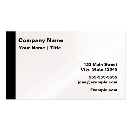 Modern iridescent business card zazzle for Iridescent business cards