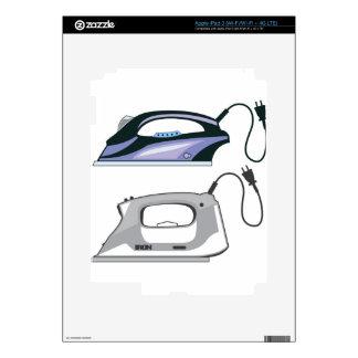Modern Iron iPad 3 Decal