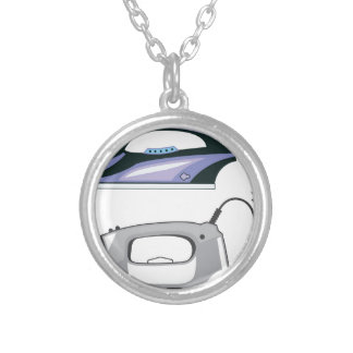 Modern Iron Silver Plated Necklace