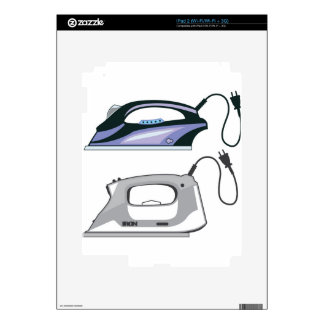 Modern Iron Skin For iPad 2