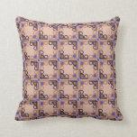 Modern Italian Renaissance mosaic Pillows