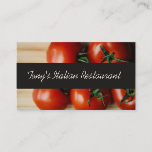 Italian business cards templates zazzle modern italian restaurant business card colourmoves