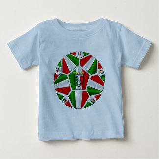 Modern Italian Soccer ball panels artwork gifts Baby T-Shirt