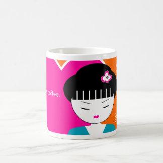 Modern Japanese Geisha Girl Coffee Mug