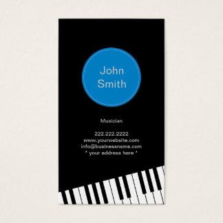 Modern Jazz Pianist/Musician Business Card