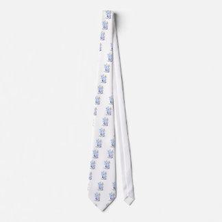 Modern Jive Ceroc Cartoon Couple Neck Tie